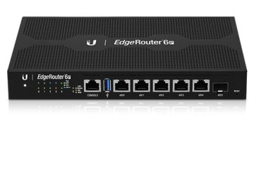 UBNT EdgeRouter 6X with Console