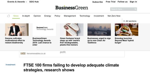 Kingfisher Consultancy In the News