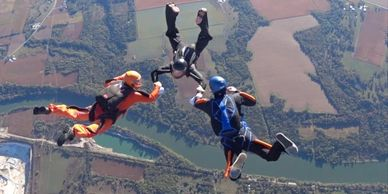 Skydiving events