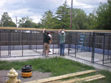 HELP the Animals Outdoor Kennels