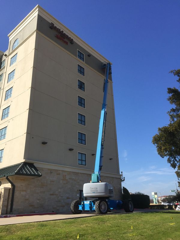 Installation at the Residence Inn Grapevine