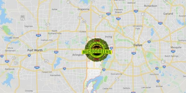 GRAND PRAIRIE MICROGREENS is located in the heart of the Dallas Fort Worth Metroplex