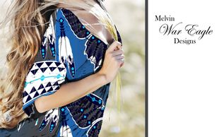 melvin war eagle kimono top native american art fashion designer at art of where