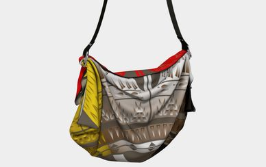 Melvin War Eagle native American Fashion Designer Bags at art of where