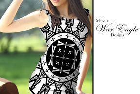melvin war eagle womens dresses native american art at art of where