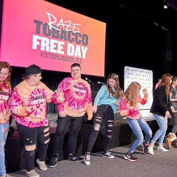 Tobacco Prevention Programs Get a Boost from Youth Motivational Speaker  Patrick Perez.
