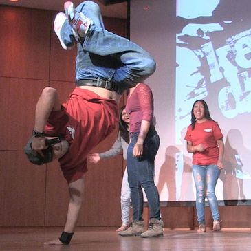 Youth Speaker Patrick Perez Amazes and Inspires Incoming Freshmen at New Mexico State University.