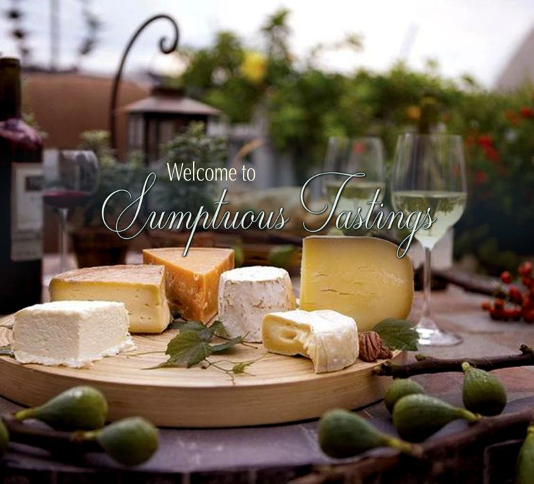 Sumptuous Tastings offers professional wine tastings and unique wine and cheese pairings!