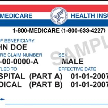 Sample Medicare card Houston tx can you laminate your medicare card