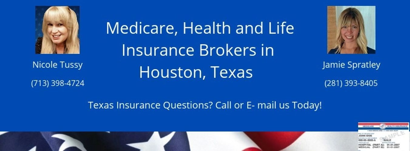 Medicare Health Insurance agency brokers in Texas Licensed and Independent Broker plans policies