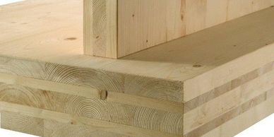 Zero Carbon Designs Cross-laminated Timber