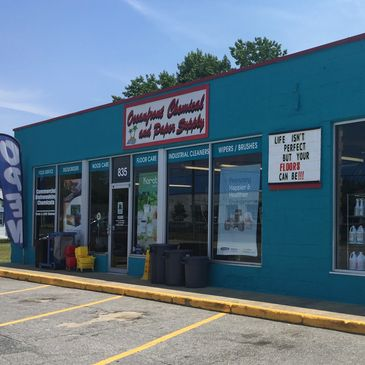 Virginia beach oceanfront cleaning supply store