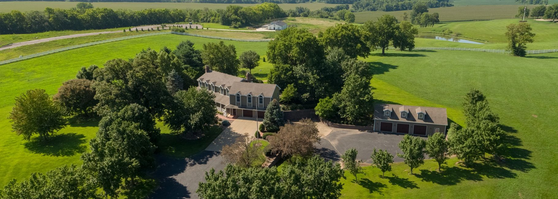 Drone On Demand Aerial Photography Example from Residential Real Estate Listing for United Country.