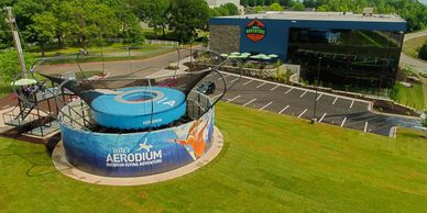 Fritz's Adventure's new AEROdium in Branson, MO.