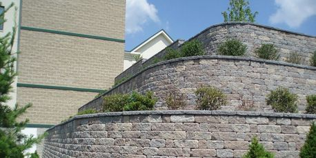 Gravity Walls and retaining walls in Virginia, MD, and DC