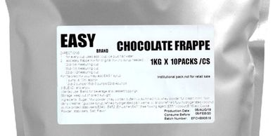 Chocolate Frappe Base