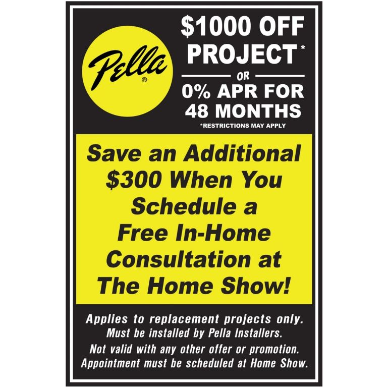 Pella Windows Special
