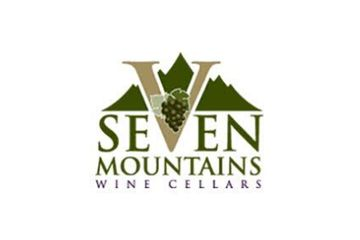 seven Mountains Wine Cellars logo grapes and mountains