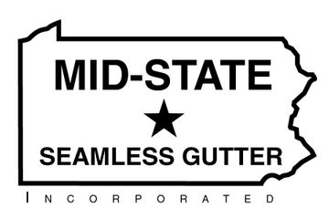 mid-state seamless gutter logo