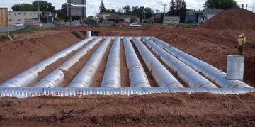 Underground Stormwater Detention Facilities