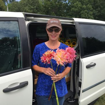 I am a flower farmer and enjoy growing specialty cut flowers for local florists.