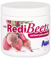 RediBeets. An all natural beet juice powder that increases blood circulation & contains nitric oxide