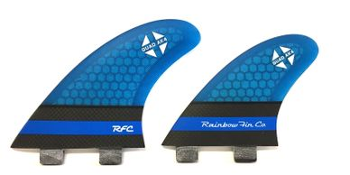 Rainbow Fin Quad AK4 fin procore with carbon