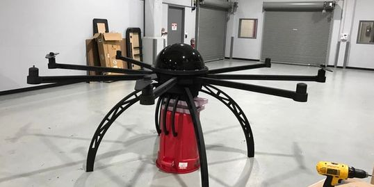 Black Acrylic Dome, CNC Routed Parts