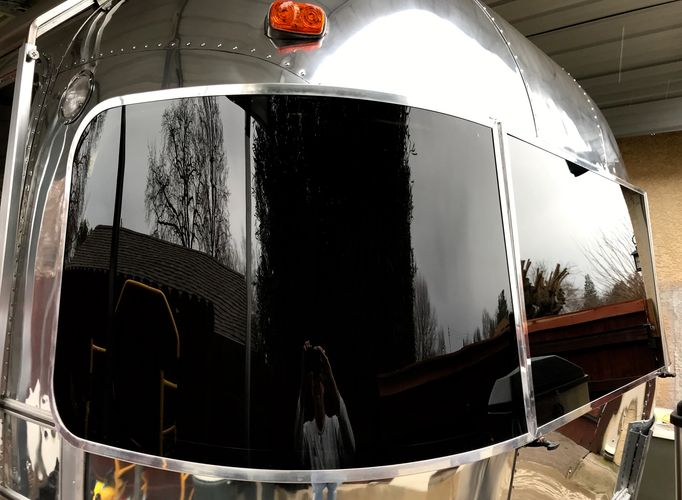 Airstream Rock Guard Acrylic Windows