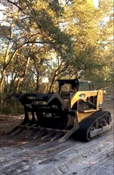 Land Clearing in Orange Springs, FL
