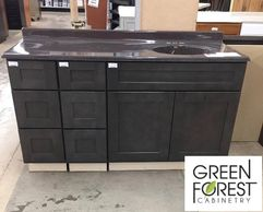 Bobs Discount Green Forest vanity