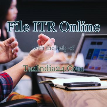 Income Tax return Filing Serrvice Online