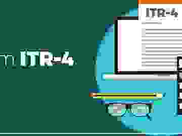 ITR 44AD, ITR-4, ITR-4S, Income Tax return business, ITR for Small Business, Income Tax Return