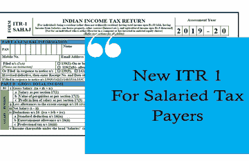 ITR-1, ITR for Salary, Income Tax Return for Salary, ITR Submit, Form16, Form-16