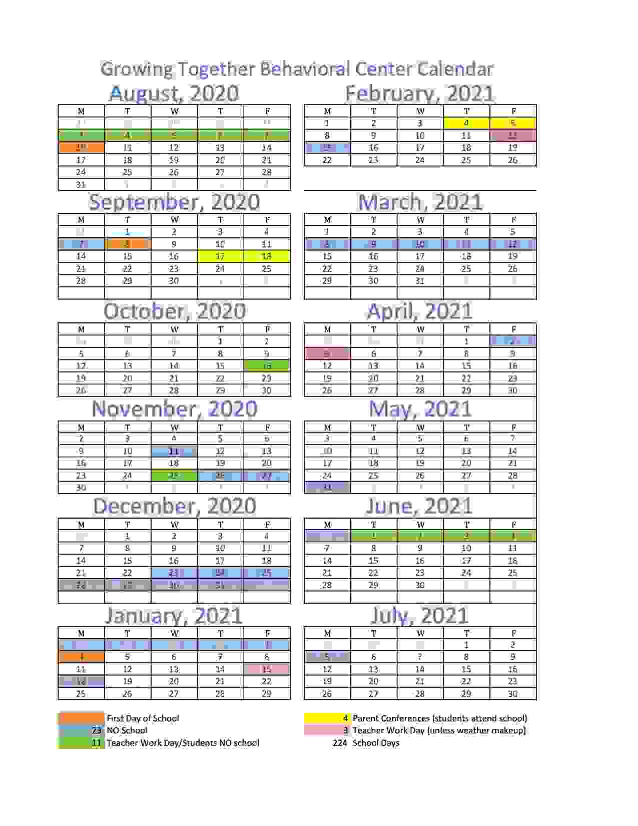 school calendar school breaks school year