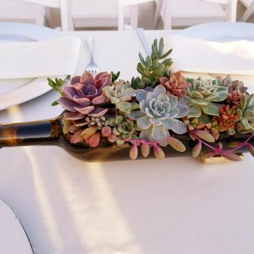 "Unique handmade ""One-of-a-kind"" succulent arrangements to give as a gift, home décor, or as  special"