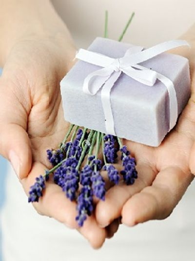 lavender buds for health and beauty products