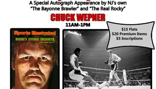 Chuck Wepner Boxing autograph signing