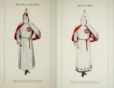 Catalogue of official Robes and Banners by Ku Klux Klan (1915- )