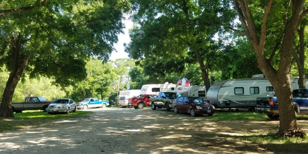 RV sites with SHADE.