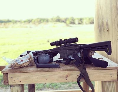 Just running this sweet rifle. #ballisticadvantage #slytactical #hyperionammo #pfioptics #walkersgsm