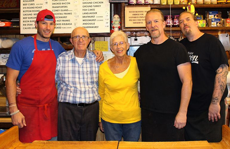 Dustin, Pops, Mom, John and Mikey at your service!