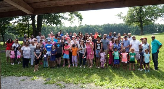 Group photo from our annual In Crowd Cookout.