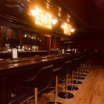 Bar at Renaissance Room of the Apothecary Bar &Lounge. Upper Level.