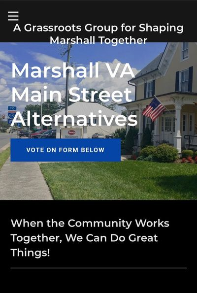 Go here for petition against one block project & for alternative plan to improve all of Main Street