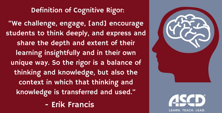 What Is Cognitive Rigor?