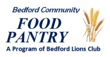 Bedford NH Food Pantry