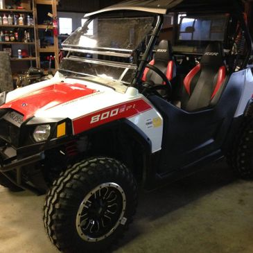 e service and repair all makes and models of motorcycles, ATV-UTV's, scooters