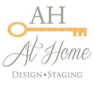 AT HOME DESIGN AND STAGING
