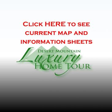 Desert Mountain Luxury Home Tour Information and Map.